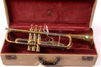 Lot 2 - Boosey & Hawkes Limited Imperial brass trumpet...
