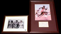 Lot 67 - A signed reproduction photograph by Roger...