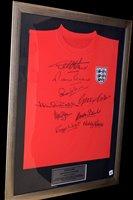 Lot 69 - An England 1966 World Cup replica shirt,...