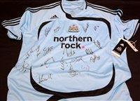 Lot 98 - A Newcastle United 2007 - 2008 season away...