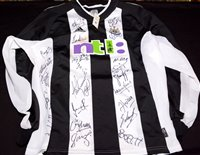 Lot 97 - A Gary Speed No.11 Newcastle United replica...