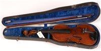 Lot 34 - Carlo Storioni Italian violin labelled Carlo...
