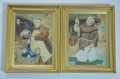 Lot 365 - Luigi da Costa - watercolours.