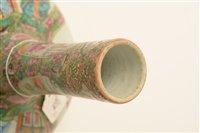 Image for Chinese porcelain mid 19th Century bottle vase