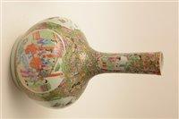 Lot 32-Chinese porcelain mid 19th Century bottle vase