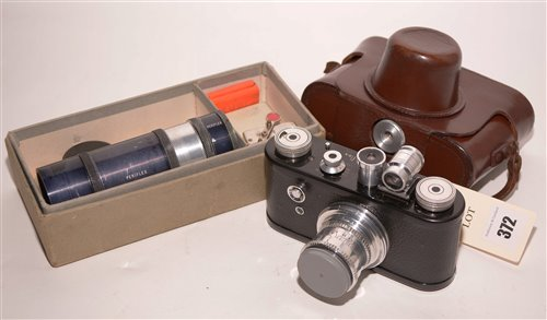 Lot 372-A Corfield Periflex 35mm film camera