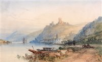 """239 - """"A view on the Rhine""""."""