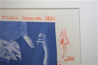 Lot 1196-David Hockney after Pablo Picasso - limited edition print
