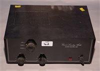 Lot 4A - Grant Lumley audio valve pre-amp GL100P
