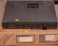Lot 2A - Two amplifiers