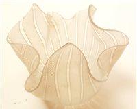 Lot 1013-A Murano Fazzoletto handkerchief vase