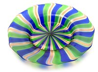 Lot 1021-murano glass plate