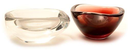 Lot 1019-Orrefors bowls