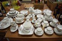Lot 1161 - Wedgwood crane dinner, tea, coffee service