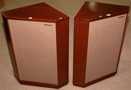 Lot 38-Pair of Tannoy floor standing corner speakers