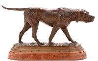 435 - Bronze model of a Labrador