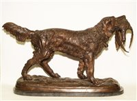 437 - After Pierre-Jules Mene- Gun Dog