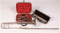Lot 17a - Harmony silver plated flute