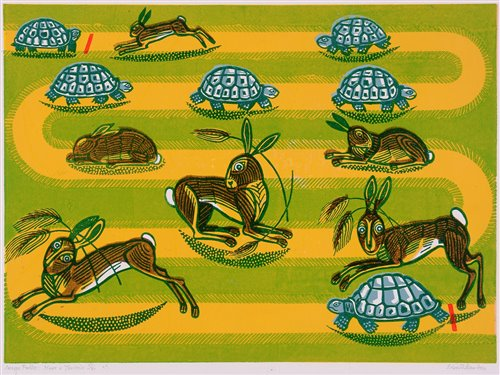 "213 - ""Aesop's Fables: Hare & Tortoise""."