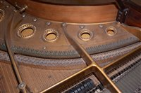 Image for C. Bechstein: a mahogany Model 'B' Boudoir grand piano