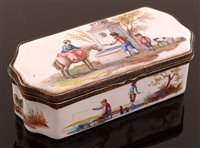 647 - 19th Century French patch box