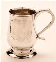 Lot 580 - Dorothy Langlands, Newcastle, silver tankard