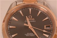 Lot 473-Omega Seamaster Aqua Terra: gentlamn's automatic watch.