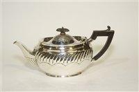 Lot 575A - A late Victorian bachelors teapot.