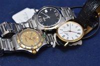 Lot 305-Three gentleman's wristwatches