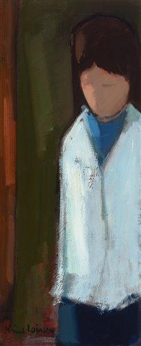 Lot 1277-Knud Verner Laursen - oil painting