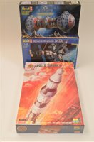 Lot 1516-Airfix and Revell Space interest