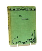 Lot 308-Rare copy of The Hobbit - first edition.