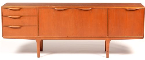 Lot 1106 - A.H. McIntosh & Co. Ltd: a mid 20th Century teak sideboard.