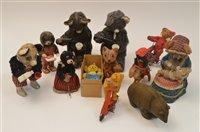 Lot 1097-Battery and clockwork bears