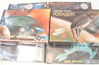 Lot 1517-Star Trek model constructor kits