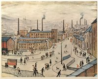 155 - After Laurence Stephen Lowry - print.
