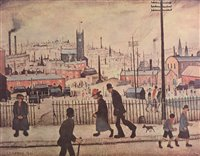 Lot 1197-After Laurence Stephen Lowry - limited print