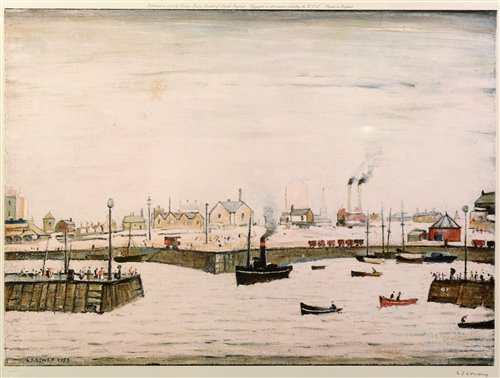 156 - After Laurence Stephen Lowry - print.