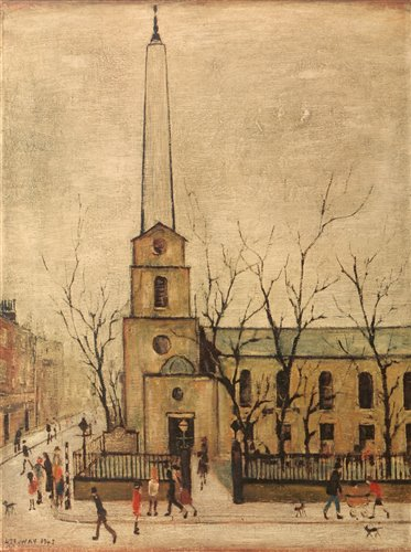 Lot 1195-After Laurence Stephen Lowry - limited print