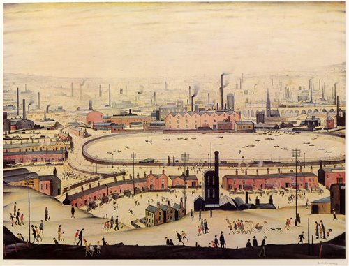 136 - After Laurence Stephen Lowry - prints.