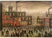 159 - After Laurence Stephen Lowry -print.