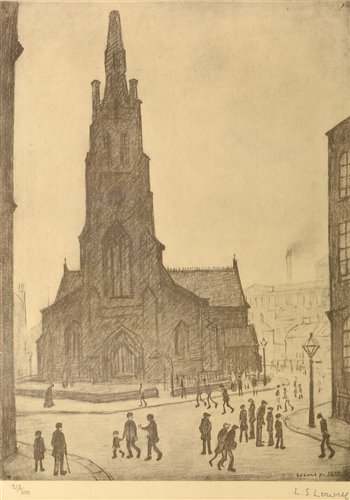 160 - After Laurence Stephen Lowry - print.