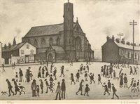 154 - After Laurence Stephen Lowry - print.