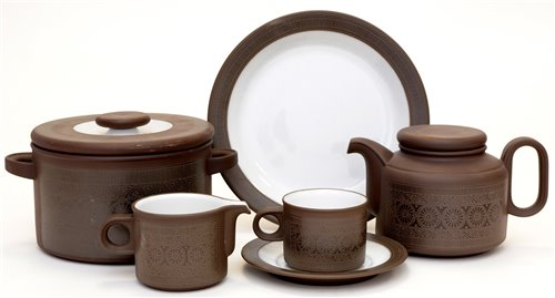 Lot 1011-Hornsea dinnerware