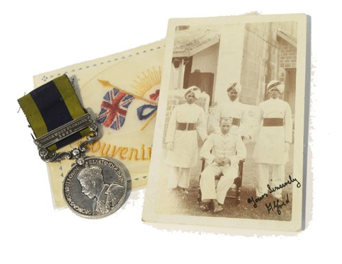 Lot 314-India North West Frontier medal