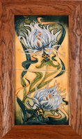 Lot 1004-A Moorcroft Double tile panel