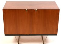 1094 - John & Sylvia Reid for Stag Furniture: a teak 'S' range cabinet.