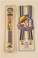 Lot 1533 - Dan Dare belt and braces