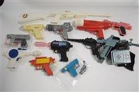 Lot 1548 - Plastic Space guns