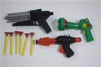 Lot 1553 - Three plastic 'Space Guns'
